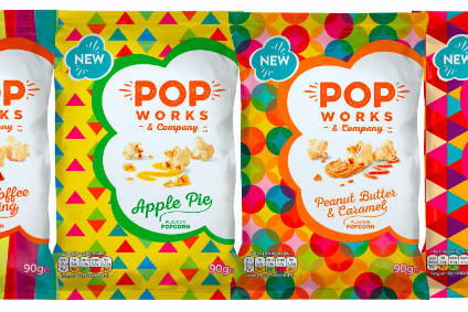 PepsiCo launched a new popcorn  brand in the UK today (16 September)