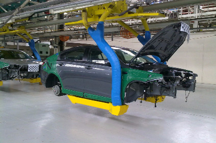 MG6 start of production in 2011. The completeness of cars arriving from China can be seen. Even then, insiders admitted to just-auto the English final assembly operation was inefficient
