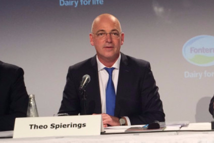 Fonterra announces CEO Theo Spierings to step down as H1 loss disclosed