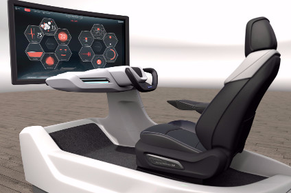 In Paris, Faurecia showed a wellness seat which detects and responds to motorists physical and mental status