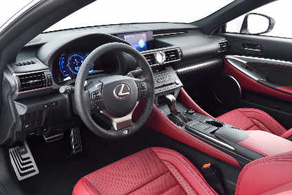 Inside The Lexus RC F Sport