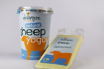 UK goats milk firm Delamere Dairy launches sheep milk products