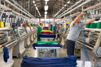 Benetton transported 36 Whole Garment knitting machines to its headquarters in order to manufacture completely in-house