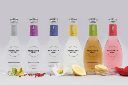 "Suntory said the Merchants Heart range of cocktail mixers are ""spirit enhancers"""
