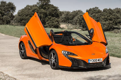 650S Spider priced at £218,250