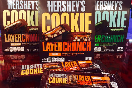 Hershey expects Layer Crunch rollout will drive Q4 growth