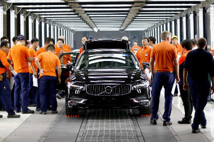 It was another big year for OEMs in China with more manufacturing capacity added with local JVs, including here with Volvo Cars (all S90 manufacture being shifted from Europe to China)