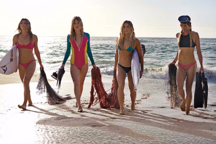 Kerings Volcom uses sustainable fibre for swim line