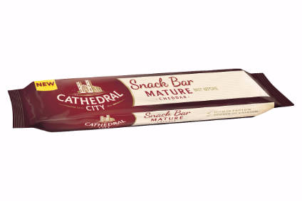 Dairy Crest launches Cathedral City snack bar