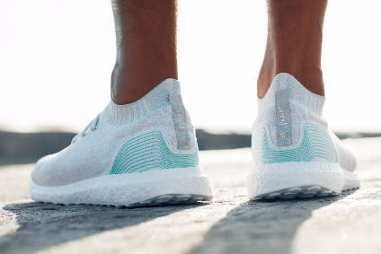 Adidas commits to 1m pairs of ocean waste running shoes