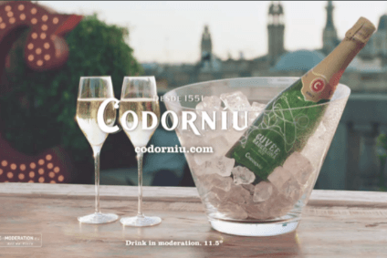 Codorniu has invested GBP1m in its latest campaign