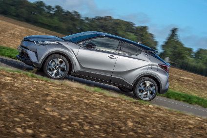The New C Hr Is Second Model To Be Built On Toyota