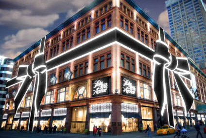 Comparable sales were down at Saks Fifth Avenue in Q3