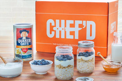 PepsiCo launches Quaker breakfast kit through Chefd