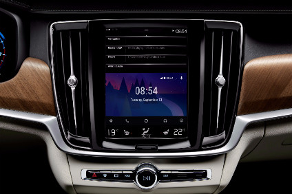 Volvo Cars Android Auto start screen