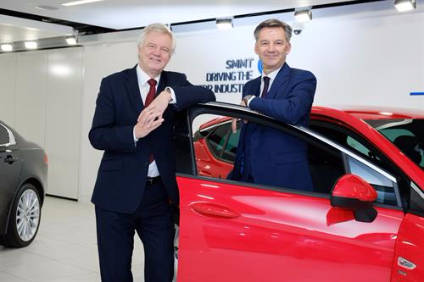 David Davis and Mike Hawes. Can Brexit terms retain the conditions that have helped the UK auto sector to thrive?