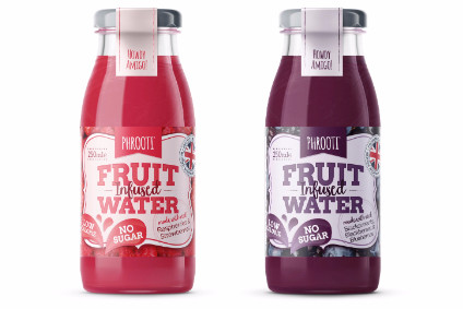 Phrooti Fruit-Infused Water will be initially available in two flavours