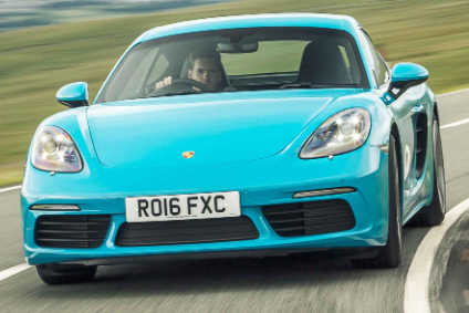 718 Cayman (300hp 2.0-litre turbo H4) costs from £39,878, while prices for the 718 Cayman S (350hp 2.5-litre H4) start at £48,834