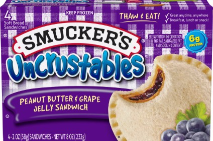 Uncrustables sandwiches aided food segment sales