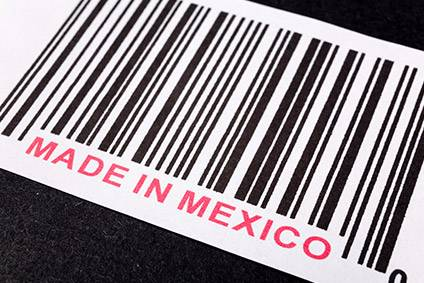 The volume of apparel exports from Mexico to the US has fallen 6% in the first eight months of this year