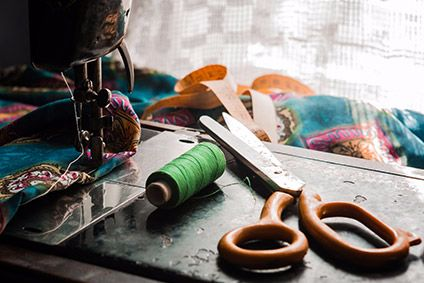 Home-based garment work includes embellishment, hand embroidery and thread-cutting