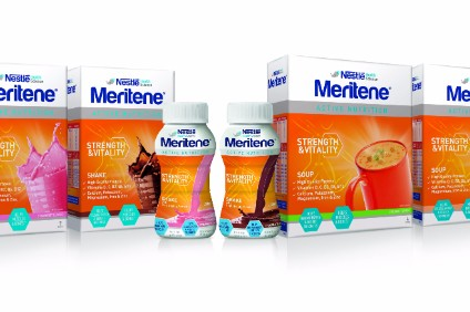 Nestle launches push behind nutrition brand Meritene in UK