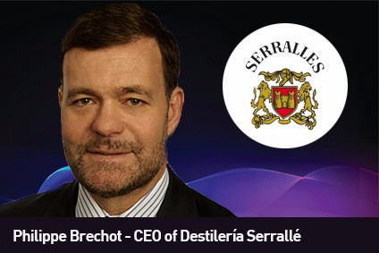 Philippe Brechot is the new CEO of Destilería Serrallé
