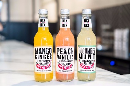 "Nix&Kix said the new range can be used as a ""healthier mixer option at night"""