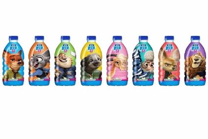 Nestle Pure Life Kids Still Water features eight Zootopia designs