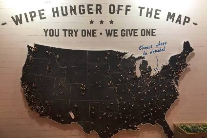 "Soulfull Project launched ""wipe hunger off the map"" awareness campaign at Expo West"