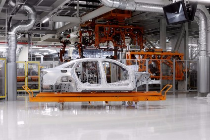 Audi builds a stunning new body shop for latest alloy A8