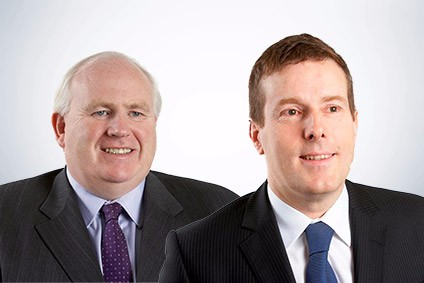 Hilton Food Group CEO Robert Watson (l) and CFO Nigel Majewski (r)