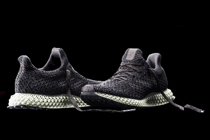 This Adidas 3D printed sneaker is made from ocean waste