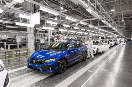 Hondas Swindon plant now builds only the Civic hatchback. Buying it would give BMW a turn-key full manufacturing plant to supplement its existing three - panels at Swindon, engines at Hams Hall and assembly at Oxford