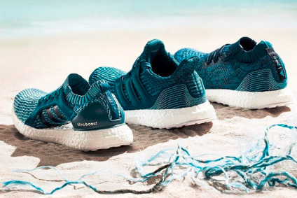 sports shoes 7f228 1cde8 As part of its partnership with Parley for the Oceans – launched in 2015 -  Adidas