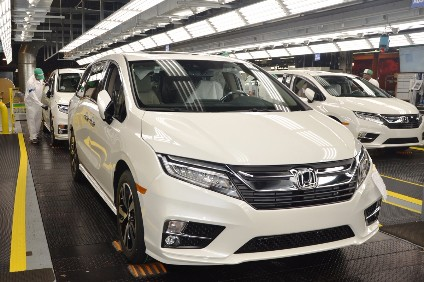 Around 1,500 Workers At Honda Manufacturing Of Alabama (HMA) Have  Celebrated The Start Of Mass Production Of The Redesigned 2018 Odyssey  Minivan, ...