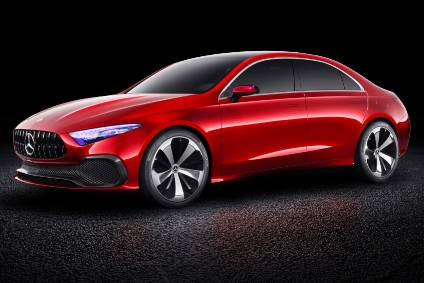 Concept A from Auto Shanghai 2017 heralds a future A-Class sedan