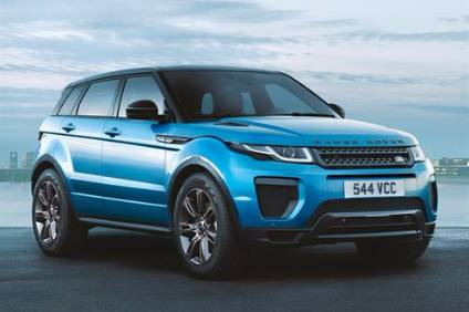 The Chinese automaker produced a copy of the first generation Evoque pictured