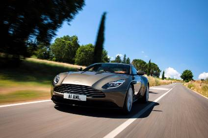 Aston Martin makes first Q1 profit in a decade