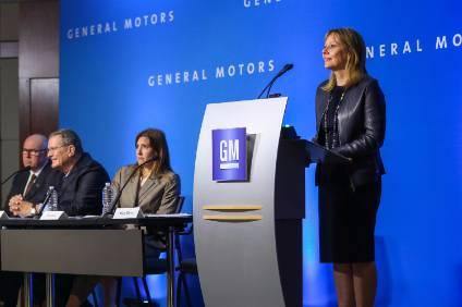 Tues. 10:45 am: GM shareholders reject stock split