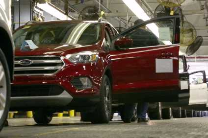 Demand for SUVs such as the Ford Escape is holding up, despite softer conditions in the US marketplace this year