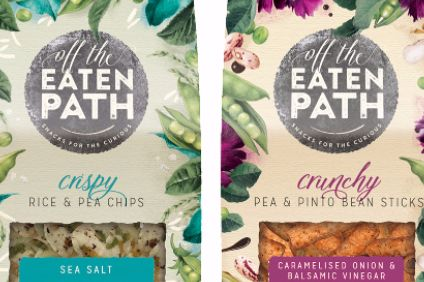 PepsiCo rolls out new version of Off The Eaten Path range in UK