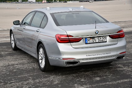 BMW continues to test autonomous drive tech in a range of models, including the 7 Series
