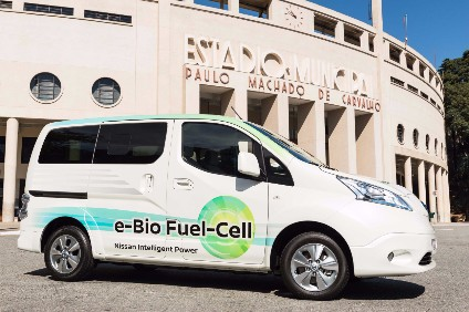 Initial testing shows promising results for ethanol powered fuel cells