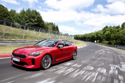 Although Stinger is already in production and on sale in South Korea, Kia is still fettling export specs at the likes of the Nurburgring
