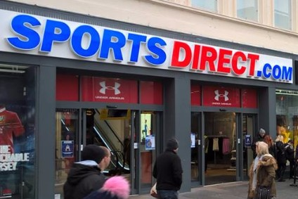 Sports Direct shares tumble as H1 profit plummets 67.3%