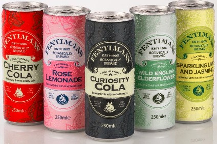 The Fentimans canned range features four existing flavours and one new release