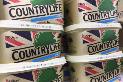 Country Life volumes have come under pressure, Dairy Crest revealed