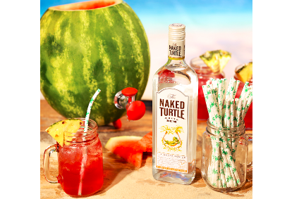 Naked Turtle white Rum launched in Florida in 2012