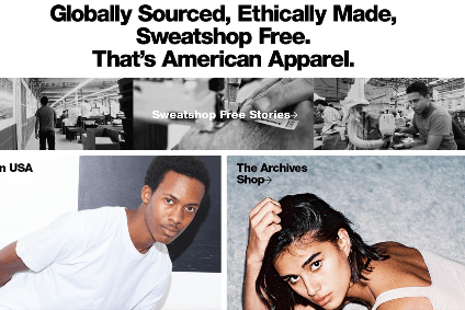 American Apparel now gives shoppers the choice to pay more to buy products that have been made in the USA